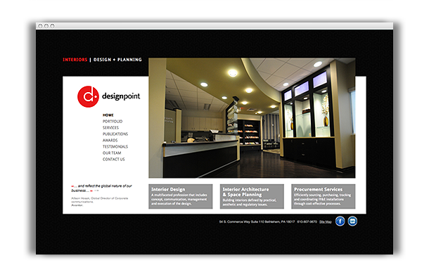 DesignPoint Website
