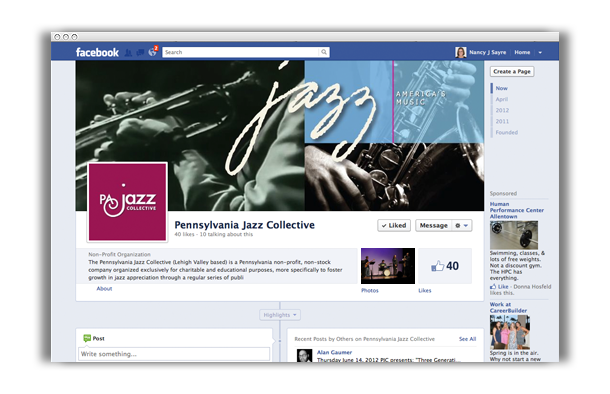 PA Jazz Collective Facebook