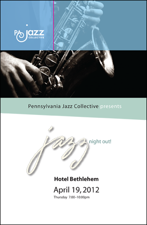 PA Jazz Collective Event Program Cover