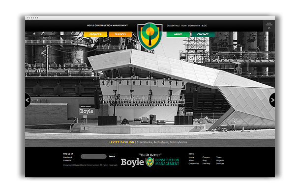 Boyle Construction Website