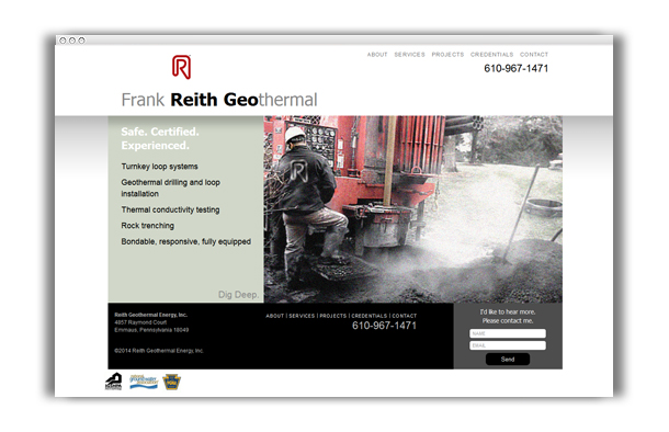 Reith Geo Website